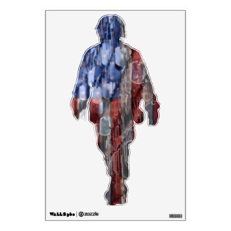 Never Forget Soldier Wall Decal