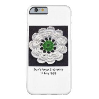 Never Forget Srebrenica iPhone 6/6s Case