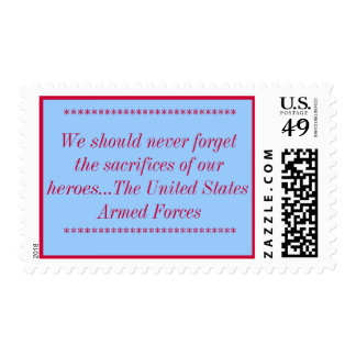 """""""Never Forget"""" stamp"""