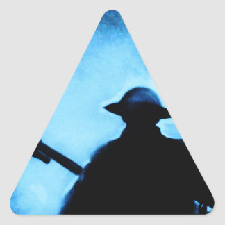 NEVER FORGET TRIANGLE STICKERS