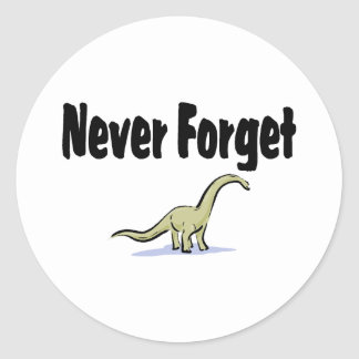 Never Forget Stickers