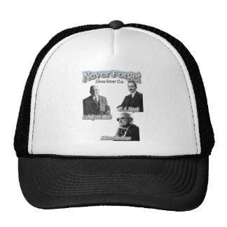 never forget the Austrians hayek, friedman, mises Trucker Hat