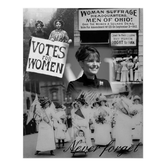 Never Forget the Women Poster