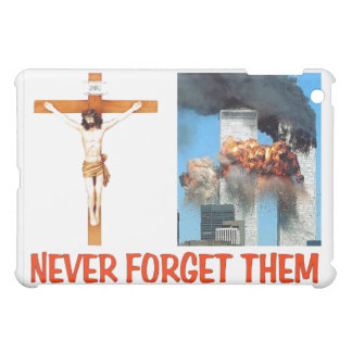 NEVER FORGET THEM iPad MINI COVER
