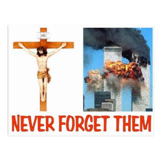 NEVER FORGET THEM POSTCARD
