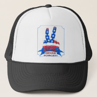 Never Forget Trucker Hat