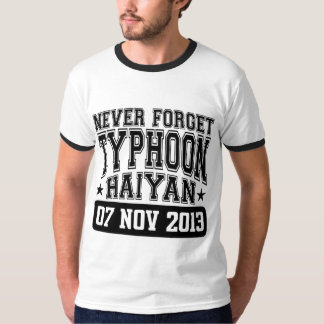 Never Forget Typhoon Haiyan T-Shirt