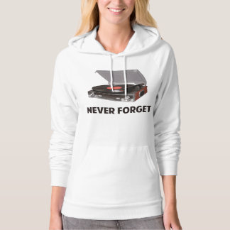 Never Forget Vinyl Record Players Hoodie