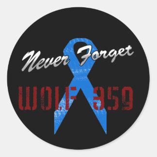 Never Forget Wolf 359 Sticker