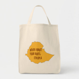 Never forget your roots: Ethiopia Tote Bag