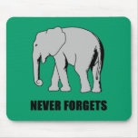 Never Forgets Mouse Pad