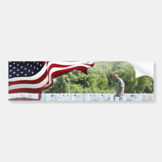 Never Forgotten - Memorial Day Bumper Sticker