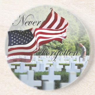 Never Forgotten - Memorial Day Drink Coasters