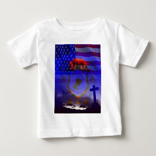 Never Forgotten POW-MIA Baby T-Shirt