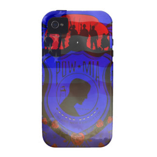 Never Forgotten POW-MIA Case-Mate iPhone 4 Cover