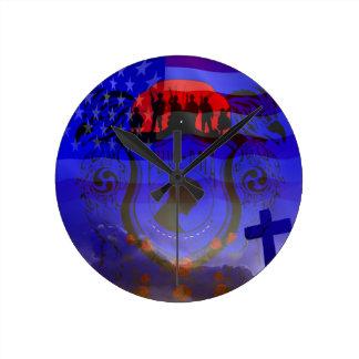 Never Forgotten POW-MIA Wall Clocks