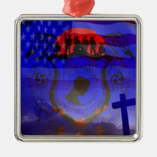 Never Forgotten POW-MIA Ornaments