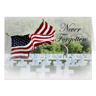Never Forgotten - Remembrance Card