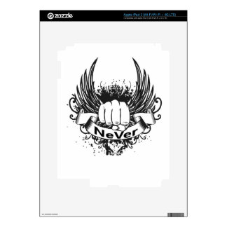 NeVer Gear Decal For iPad 3