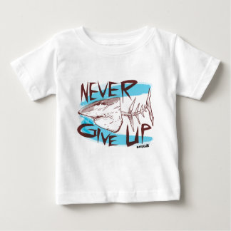 never give up baby T-Shirt