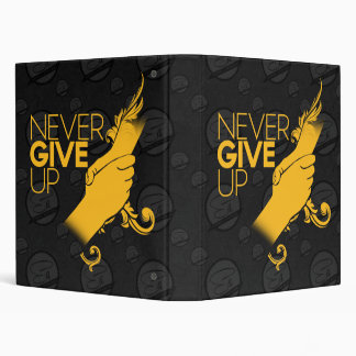 Never Give Up Binder