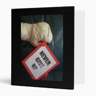 Never Give Up Boxing Binder
