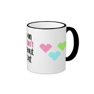 Never Give Up Coffee Mugs