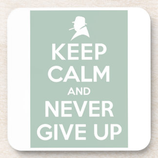 Never Give Up Coasters
