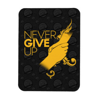 Never Give up Flexible Magnet