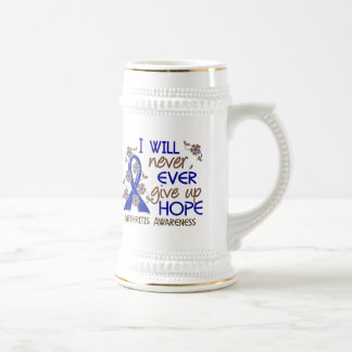 Never Give Up Hope 4 Arthritis 18 Oz Beer Stein