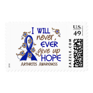 Never Give Up Hope 4 Arthritis Postage Stamp