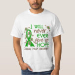 Never Give Up Hope 4 Cerebral Palsy T Shirts
