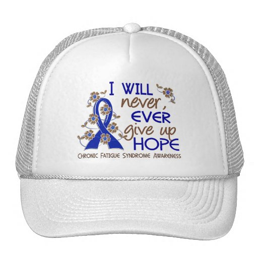 Never Give Up Hope 4 CFS Trucker Hat