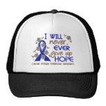 Never Give Up Hope 4 CFS Trucker Hats