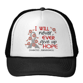 Never Give Up Hope 4 Diabetes Trucker Hat