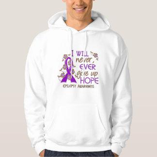 Never Give Up Hope 4 Epilepsy Sweatshirt