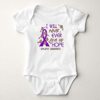 Never Give Up Hope 4 Epilepsy Tee Shirt