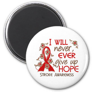 Never Give Up Hope 4 Stroke 2 Inch Round Magnet