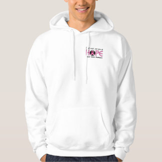 Never Give Up Hope 5 Breast Cancer Hoodie