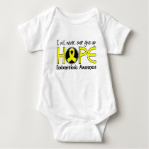 Never Give Up Hope 5 Endometriosis Baby Bodysuit
