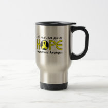 Never Give Up Hope 5 Endometriosis Travel Mug