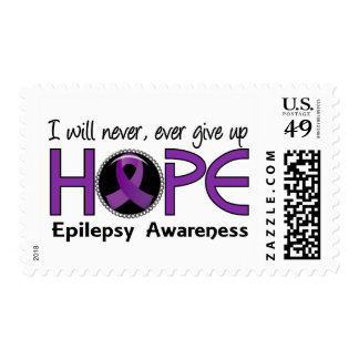 Never Give Up Hope 5 Epilepsy Postage