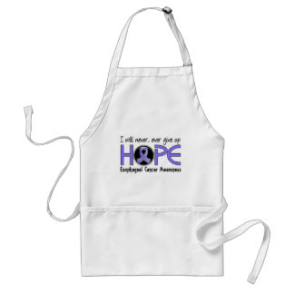 Never Give Up Hope 5 Esophageal Cancer Adult Apron
