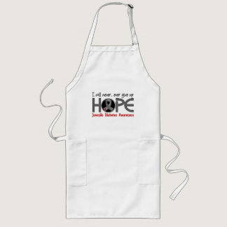 Never Give Up Hope 5 Juvenile Diabetes Long Apron