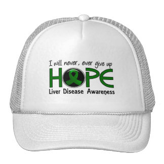 Never Give Up Hope 5 Liver Disease Hat