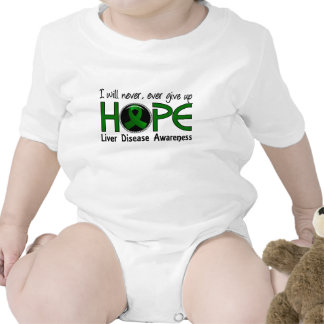 Never Give Up Hope 5 Liver Disease T-shirt