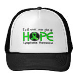 Never Give Up Hope 5 Lymphoma Hats