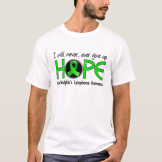 Never Give Up Hope 5 Non-Hodgkin's Lymphoma T-Shirt