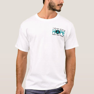 Never Give Up Hope 5 Ovarian Cancer T-Shirt