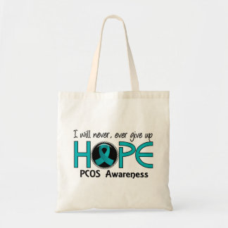 Never Give Up Hope 5 PCOS Tote Bag